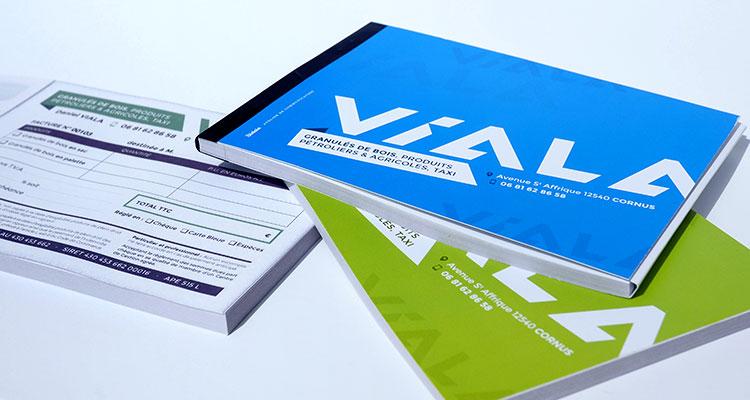 Autocopiants pour Viala