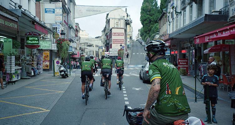 Illustration prise de vue - Cyclisme
