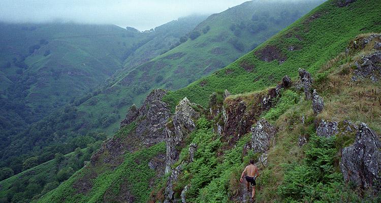 Illustration prise de vue - Trail