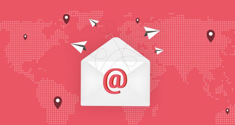Illustration mail professionnel