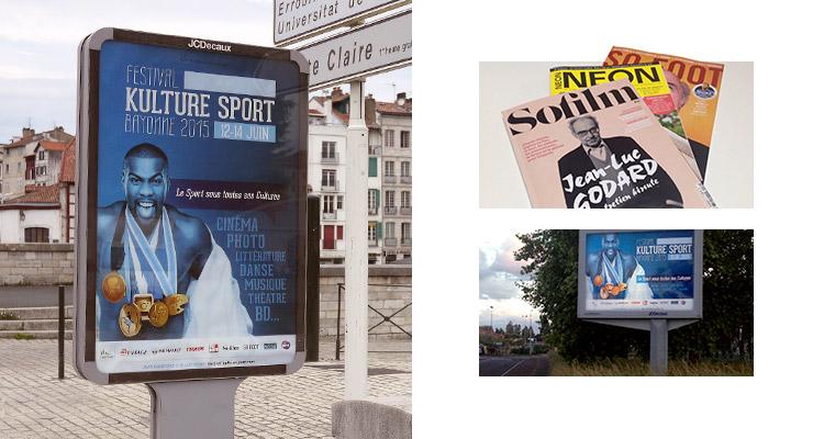 Publicités Kulture Sport