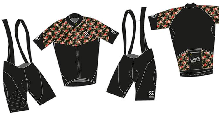Tenue du Seasiders Cycling Club