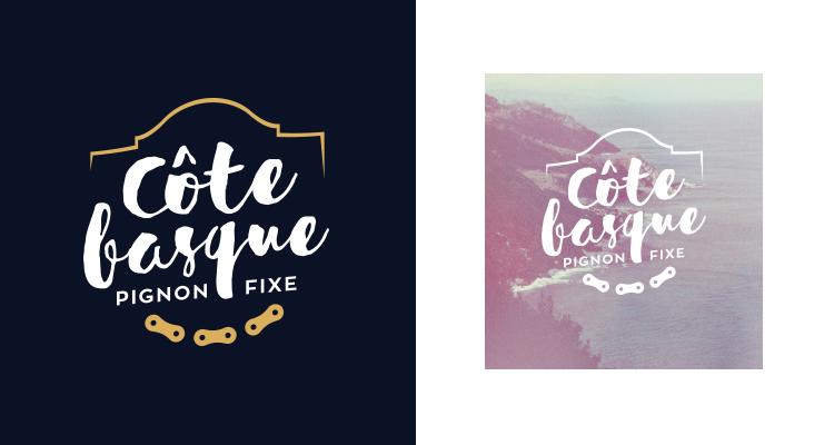 Logo Côte Basque Pignon Fixe