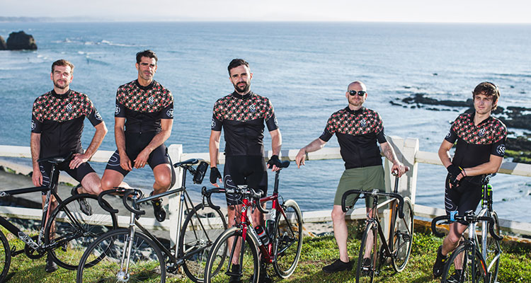 Tenue du Seasiders Cycling Club